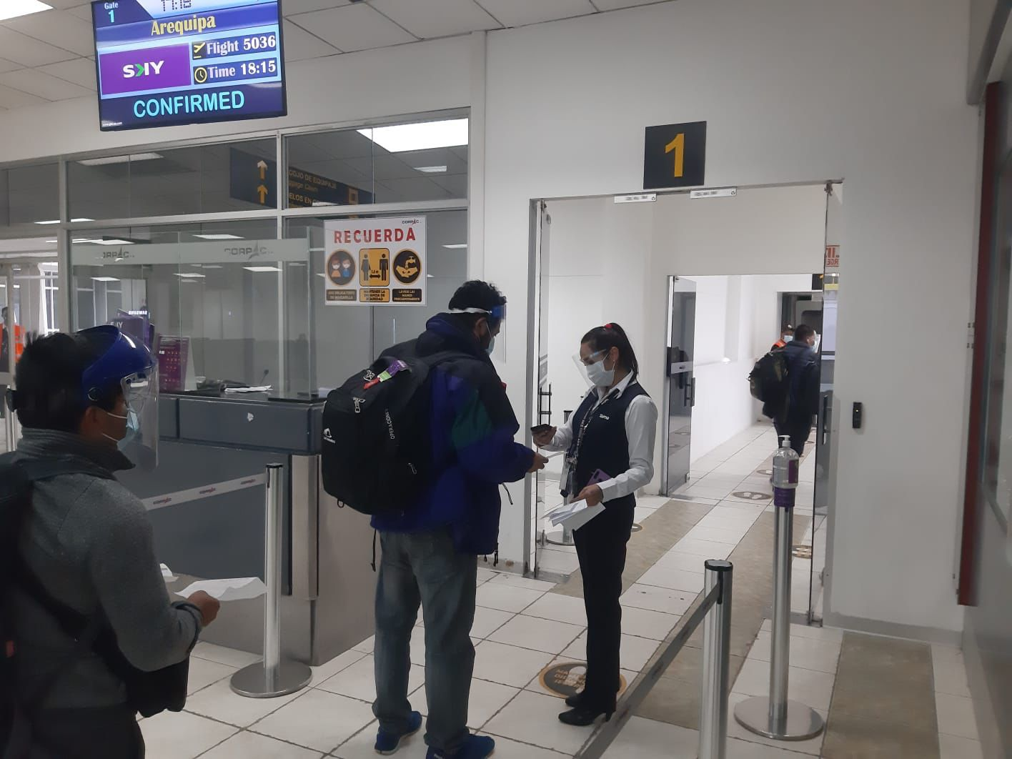 Aerolínea Sky reinició su ruta interregional Cusco-Arequipa