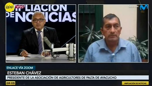"""""""Nueva Ley Agraria está matando a más de 1,800 productores de Palta Hass en Ayacucho"""", señaló Presidente de la Asociación de Fruticultores de Ayacucho"""