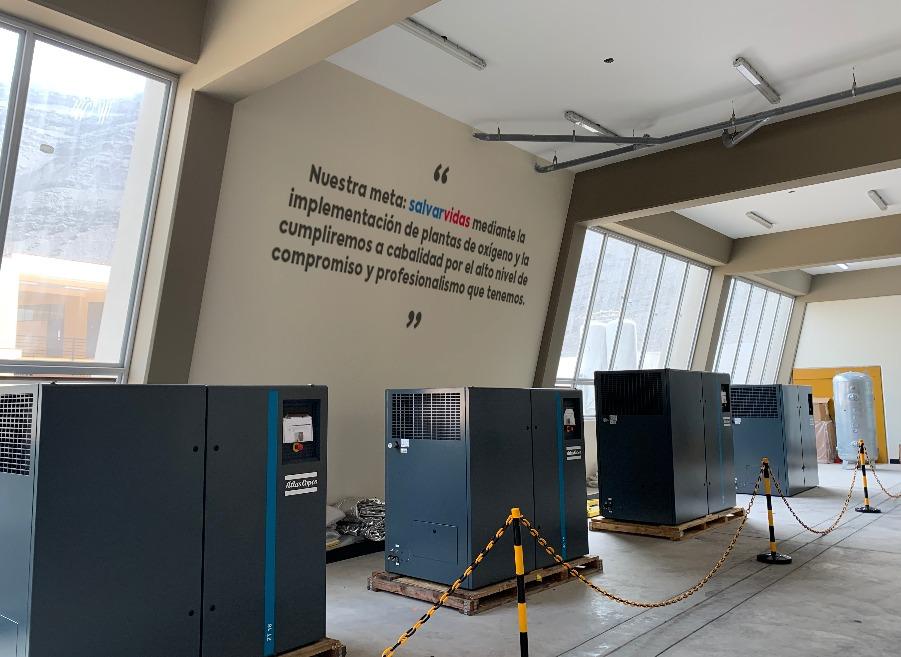 La UNI anuncia la entrega de 47 plantas de oxígeno