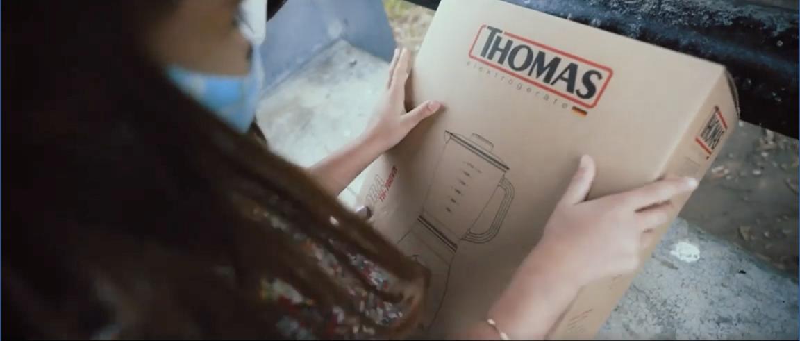 Thomas y Norte Consultora presentan una campaña sostenible con las nuevas cajas biodegradables