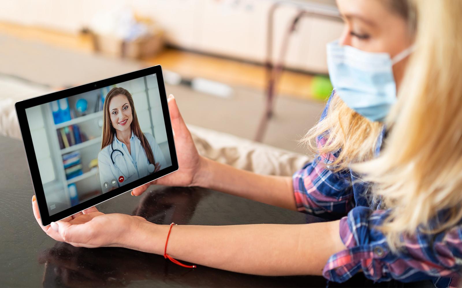 Atención en telemedicina sextuplicó su número durante la pandemia por COVID-19