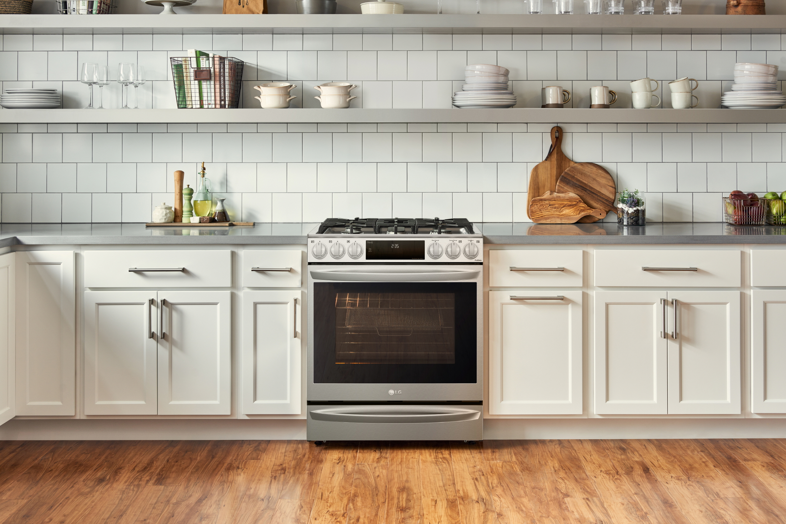 La gama instaview® de LG con Air Sous Vide es la cocina que los gourmets del hogar han esperado