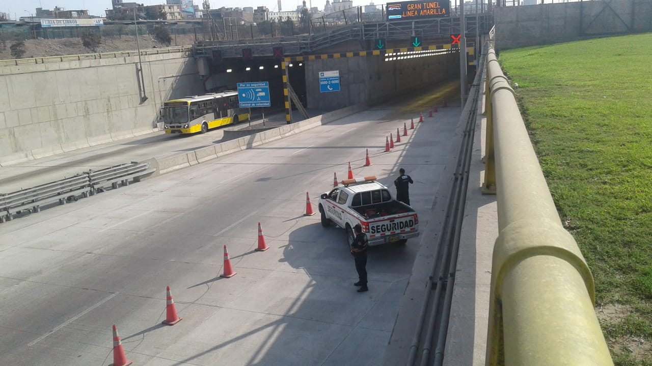 Siniestros en Vía de Evitamiento y vía expresa Línea Amarilla se incrementaron durante diciembre por alto tránsito de vehículos