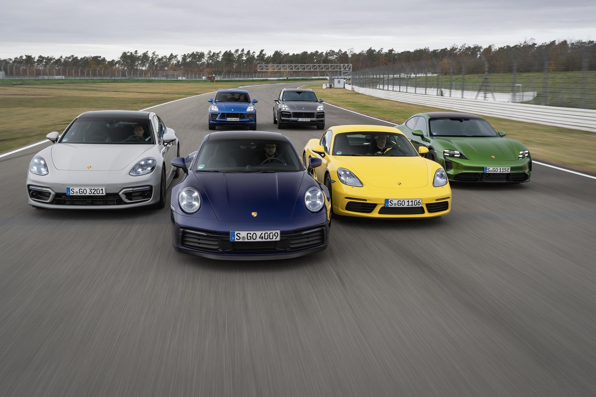 Porsche logró un sólido nivel de entregas en 2020
