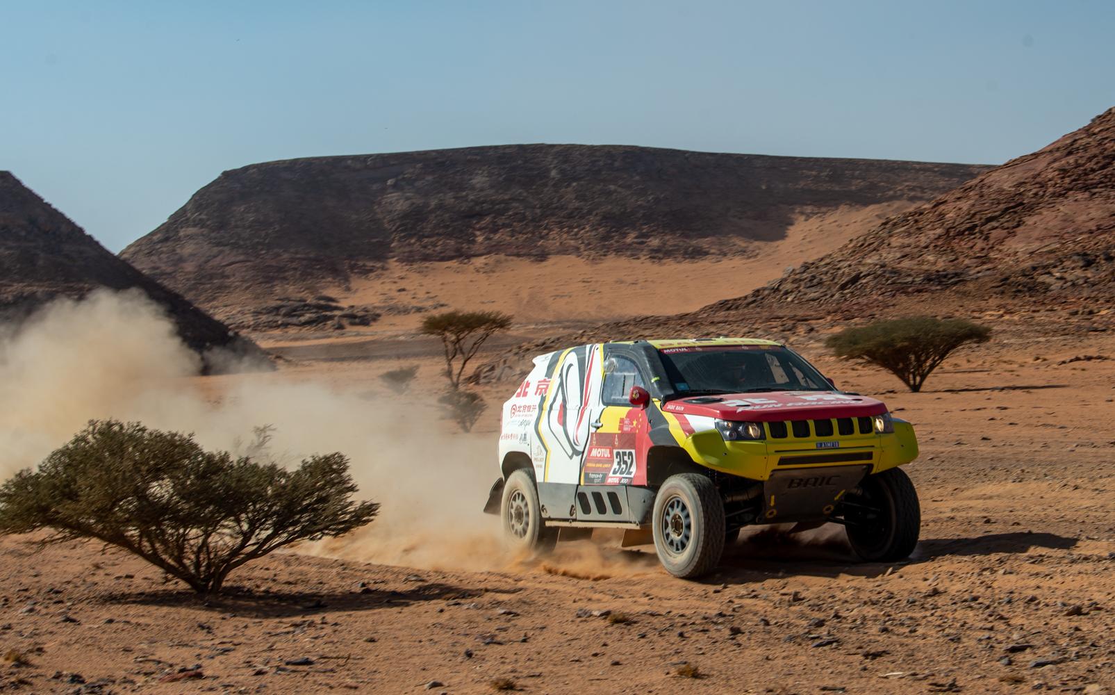 BAIC participa en el rally Dakar 2021 con el modelo todoterreno BAIC ORV