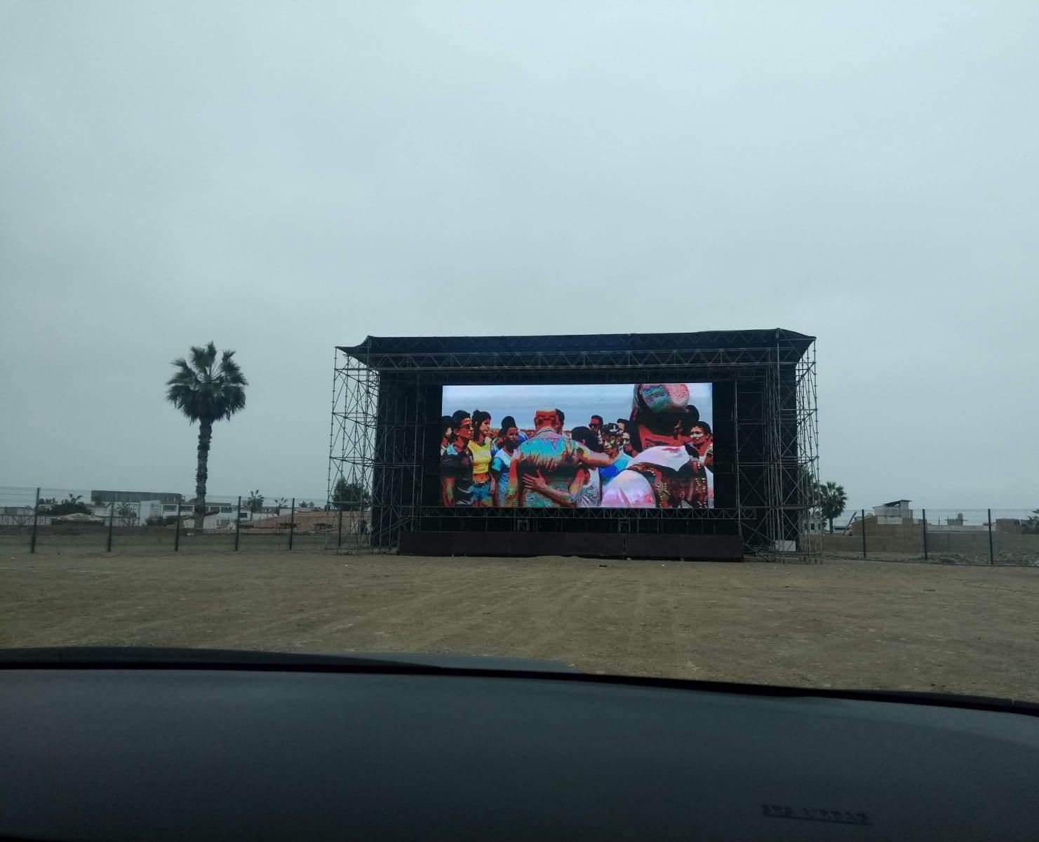 El primer autocine en Lima Norte abrirá sus puertas el viernes 8 de enero