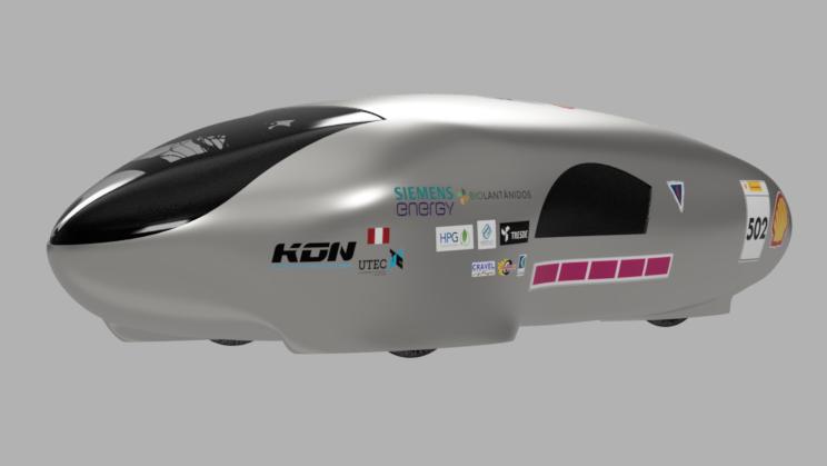 Equipo peruano participara por primera vez en competencia internacional de vehículos energéticamente eficientes