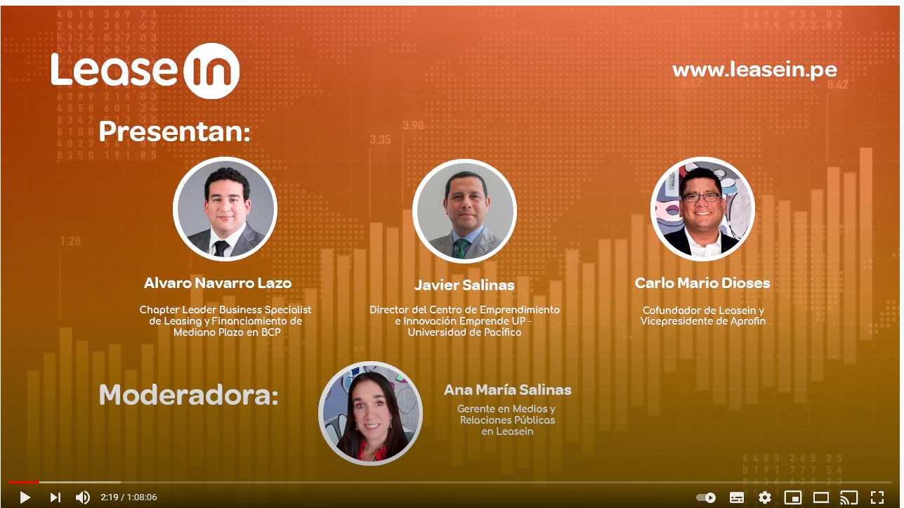 """Conclusiones del webinar """"Perspectivas del leasing financiero 2021"""""""