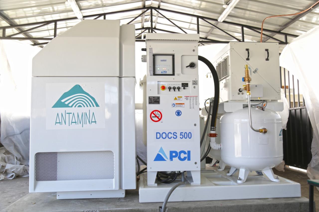 Antamina entregará otras dos plantas de oxígeno en Ancash