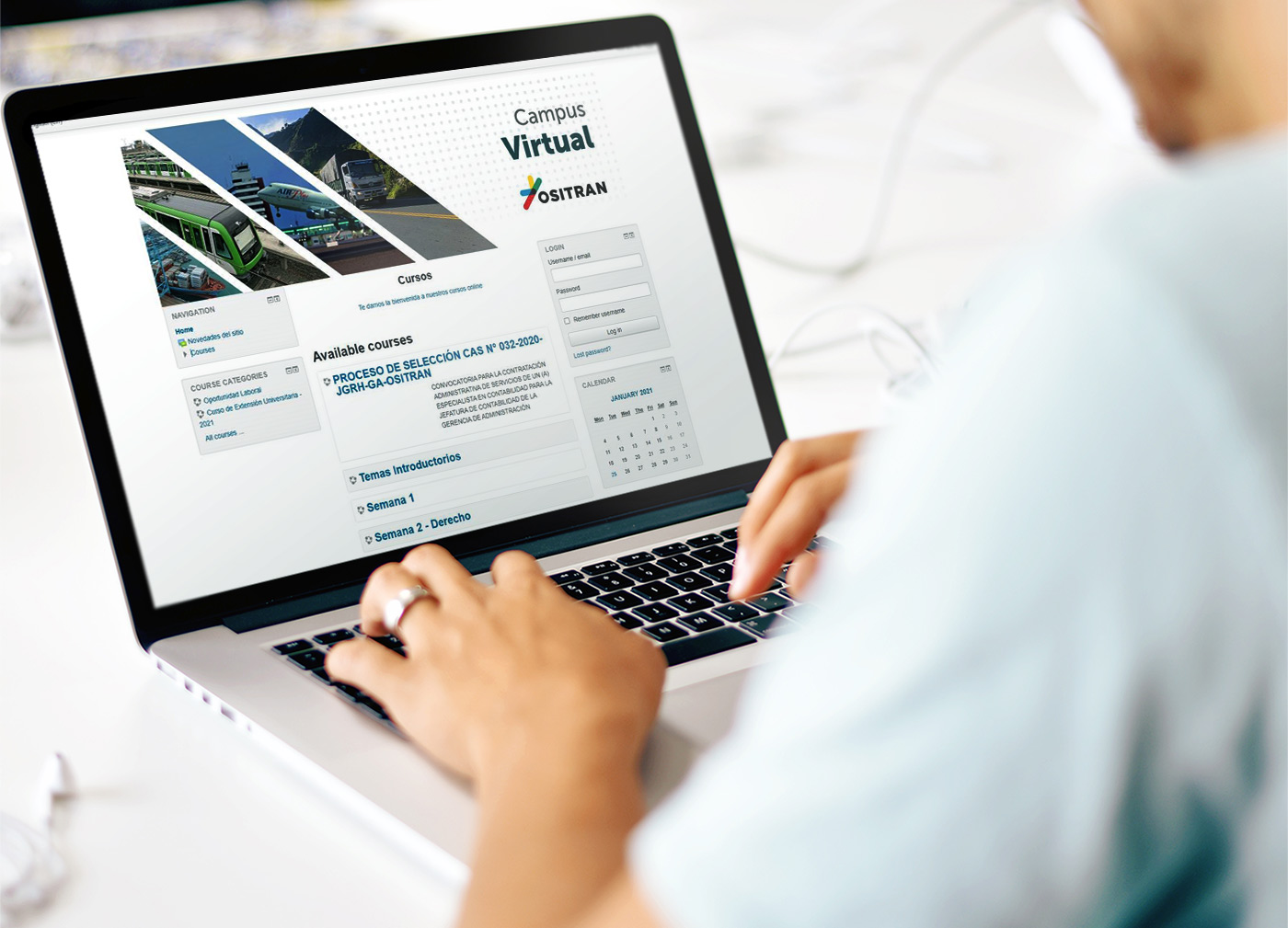 Ositrán continuará atendiendo de manera virtual al público en general