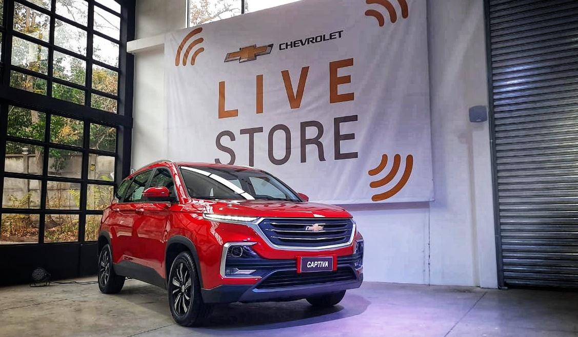 Chevrolet: El 25% de la venta de autos será a través de nuestro showroom digital
