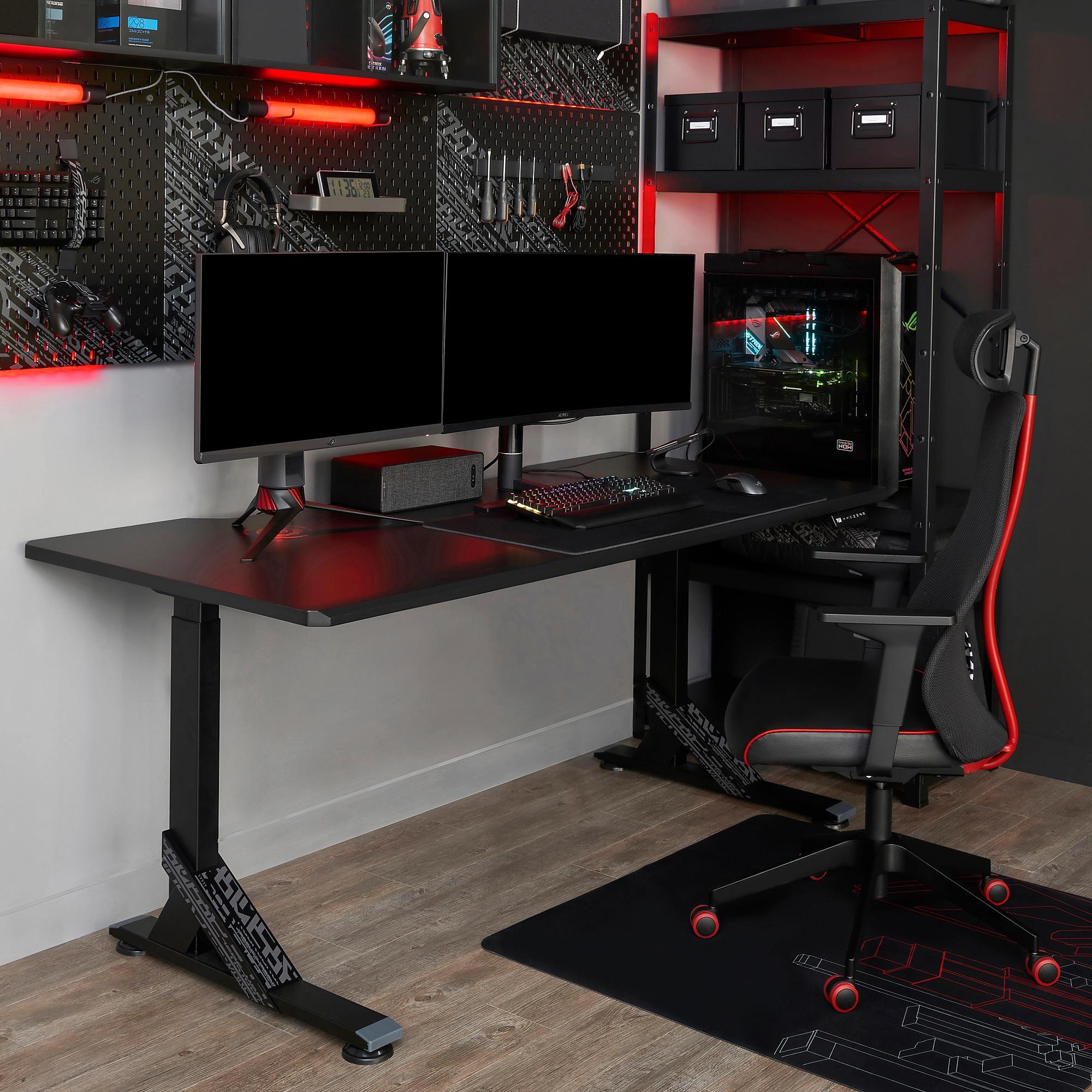 Muebles gamer, la nueva apuesta de IKEA y ROG