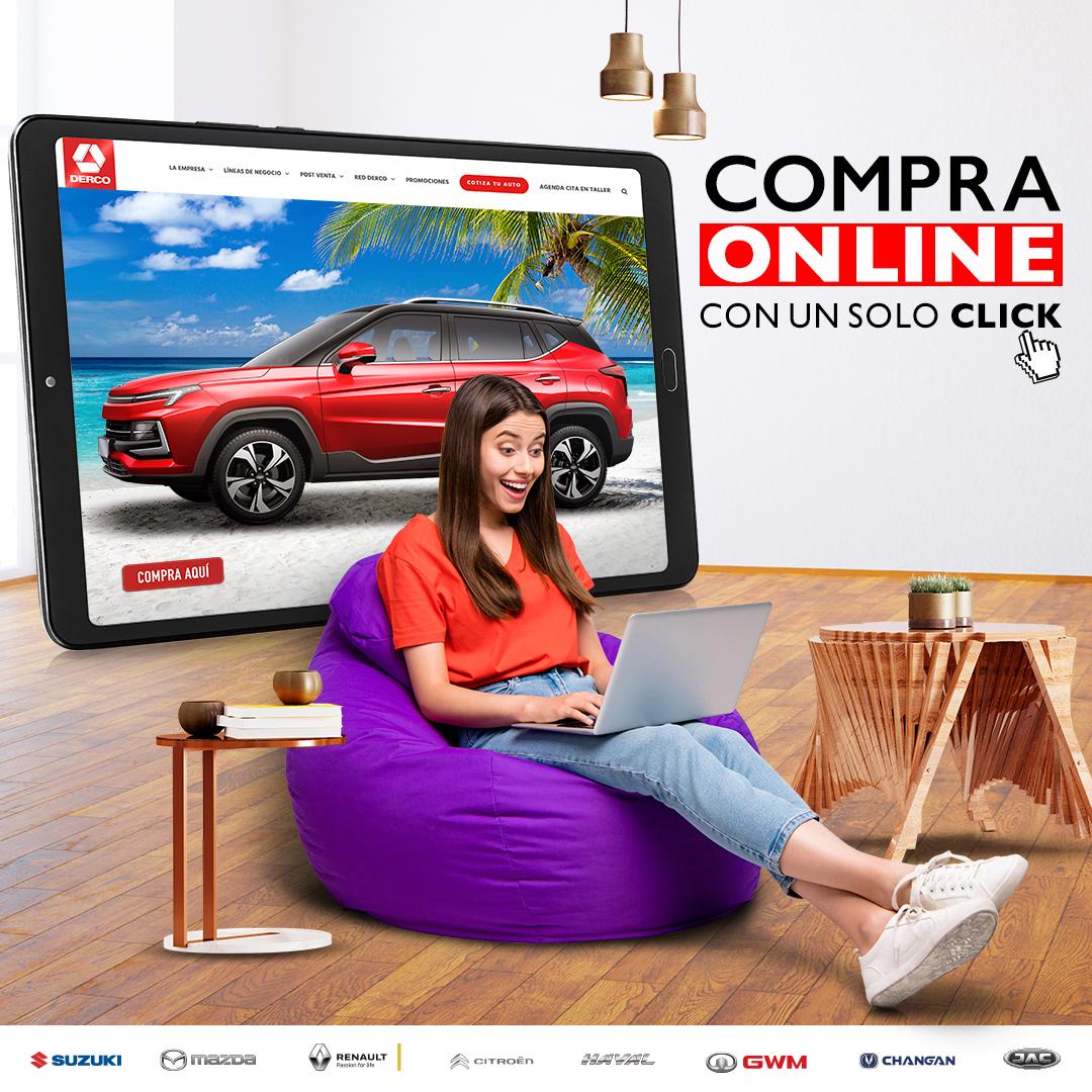 Derco refuerza su canal de ventas online