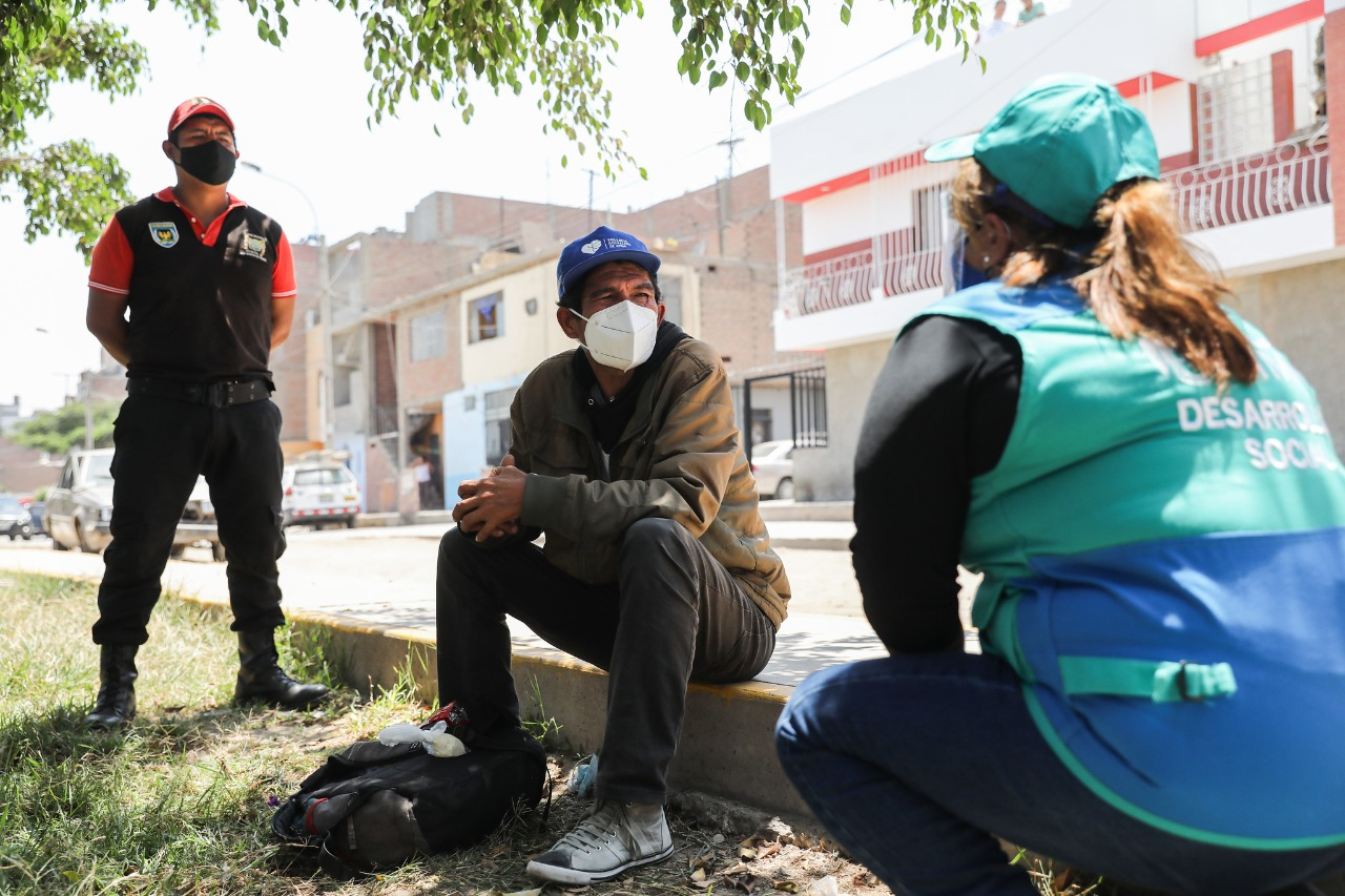 Municipalidad de Lima realizó primer operativo interdistrital de rescate a personas en situación de calle