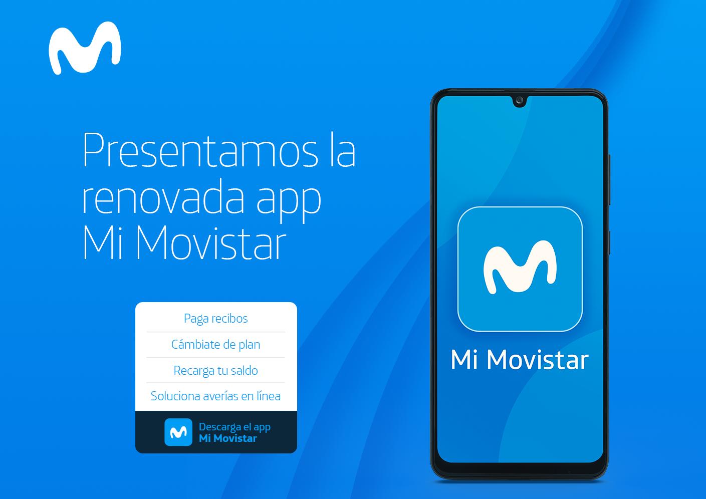 Movistar simplifica la atención de sus clientes a través de renovada app 'Mi Movistar'