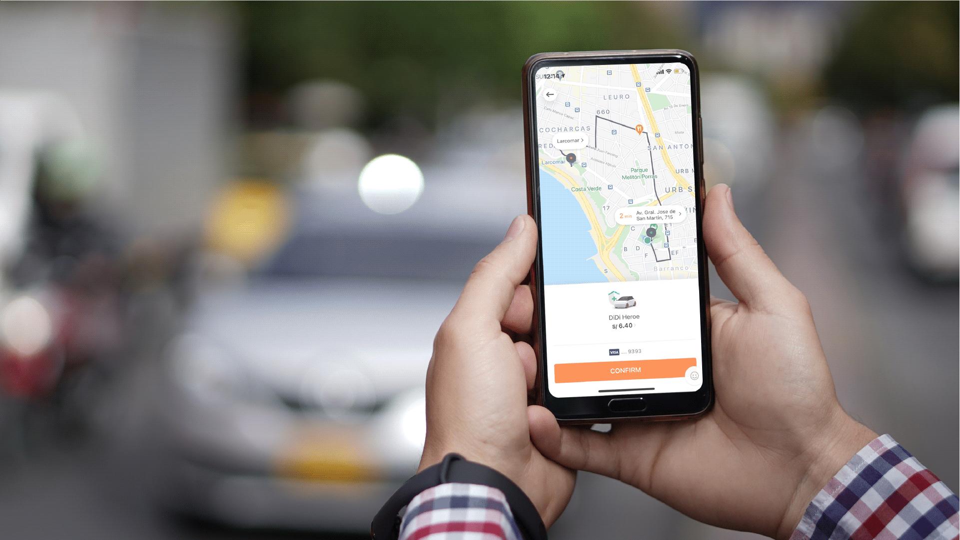 DiDi activa su nueva opción DiDi Héroe que conecta con taxistas autorizados por la ATU