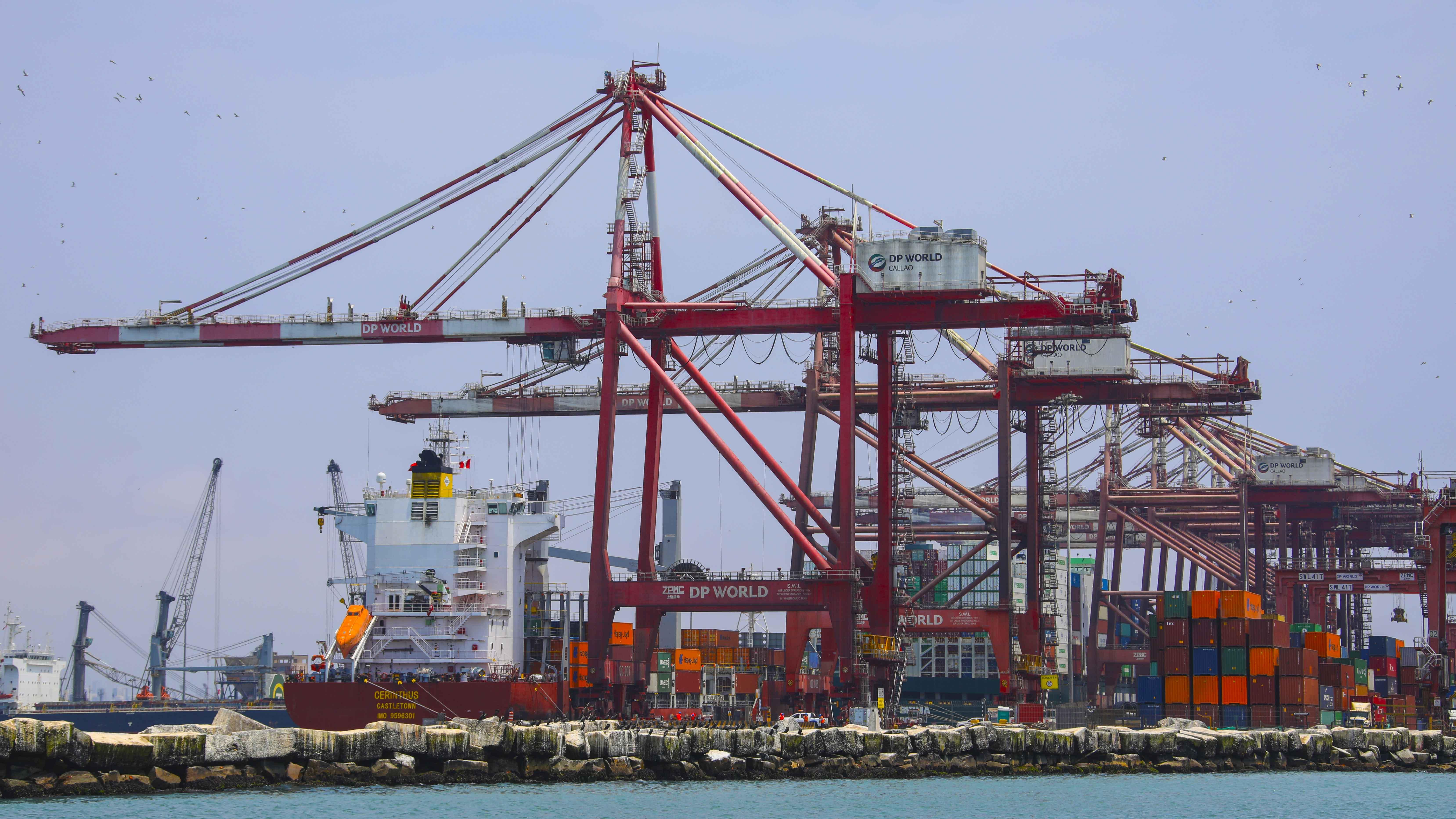 Terminal Portuario del Callao movilizó más de 45 millones de toneladas de carga durante el 2020