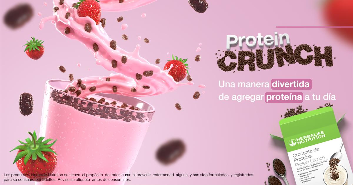 Herbalife Nutrition lanza en el Perú innovadora proteína crujiente de alto valor nutricional