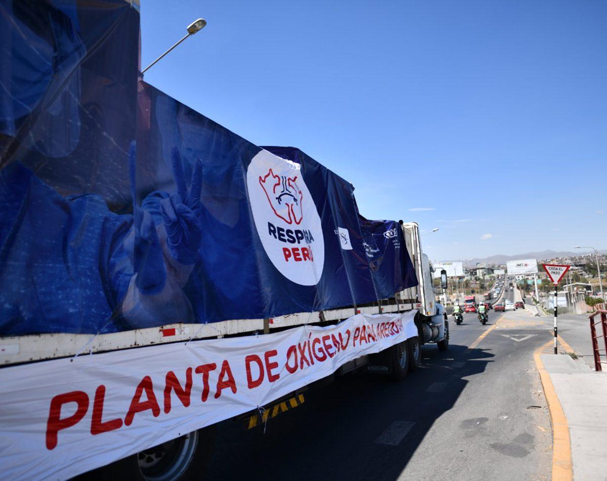 Más de 3.5 millones de soles recaudó campaña respira Perú