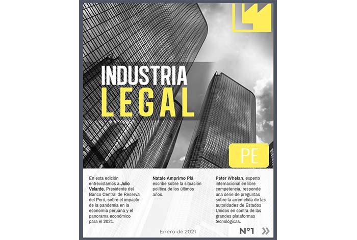 """Revista Latinoamericana """"Industria Legal"""" llega al Perú"""