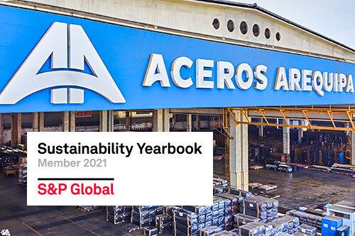 Corporacion Aceros Arequipa S.A. ingresa al anuario de sostenibilidad 2021 de S&P Global