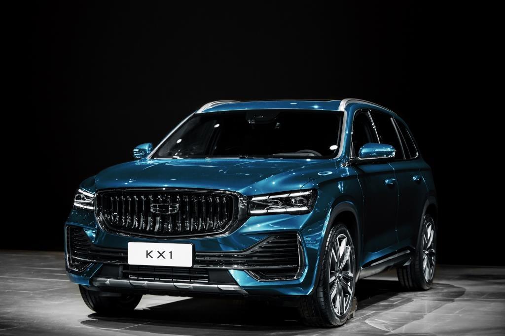"""Geely presentó la SUV KX11 en el """"Salón del Automóvil de Shangai"""""""