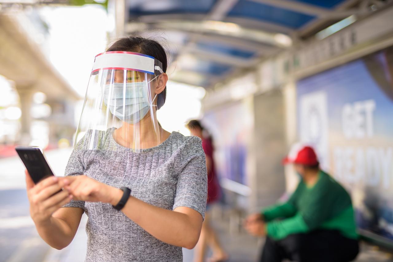 Inacal recomienda tomar en cuenta requisitos de calidad al adquirir un escudo de protección facial