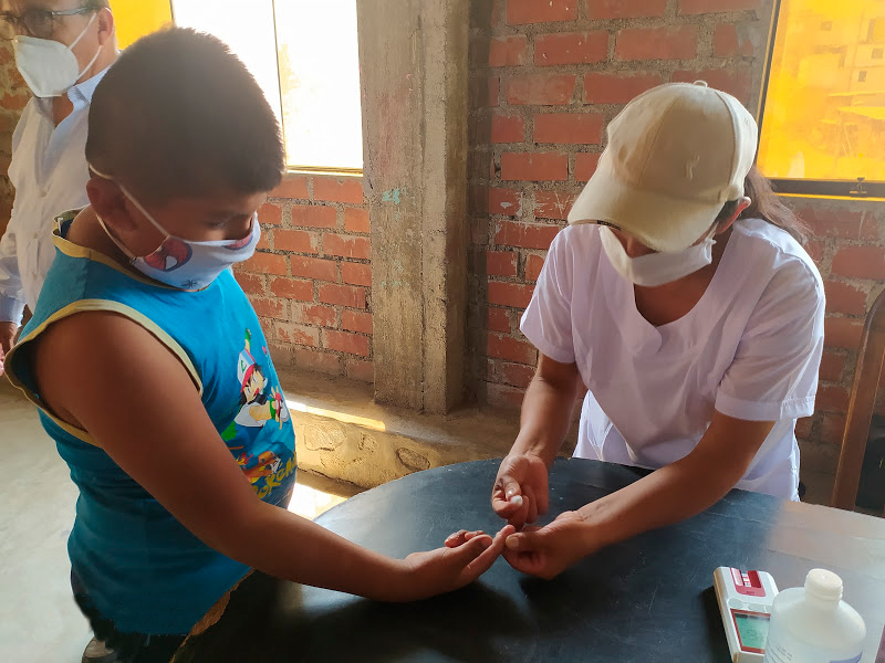 Universidad Nacional de Ingeniería y ONG implementan programa de erradicación de la anemia que será replicado en zonas mineras