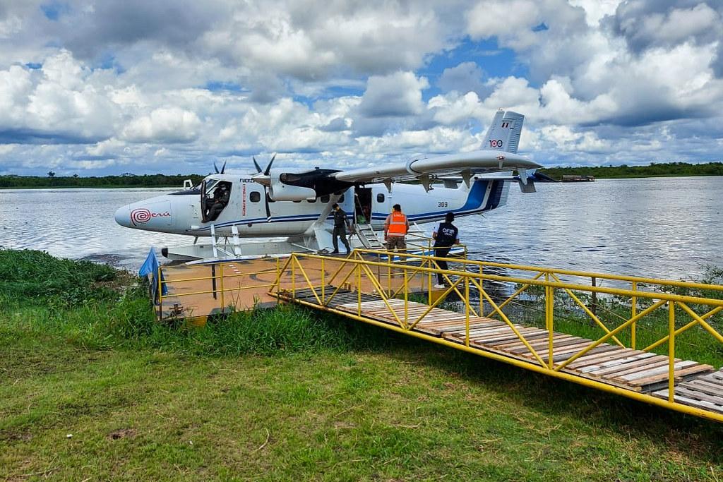 Midis: Más de 7 mil pobladores recibieron servicios prioritarios durante I Campaña de PIAS Aéreas en la Amazonía