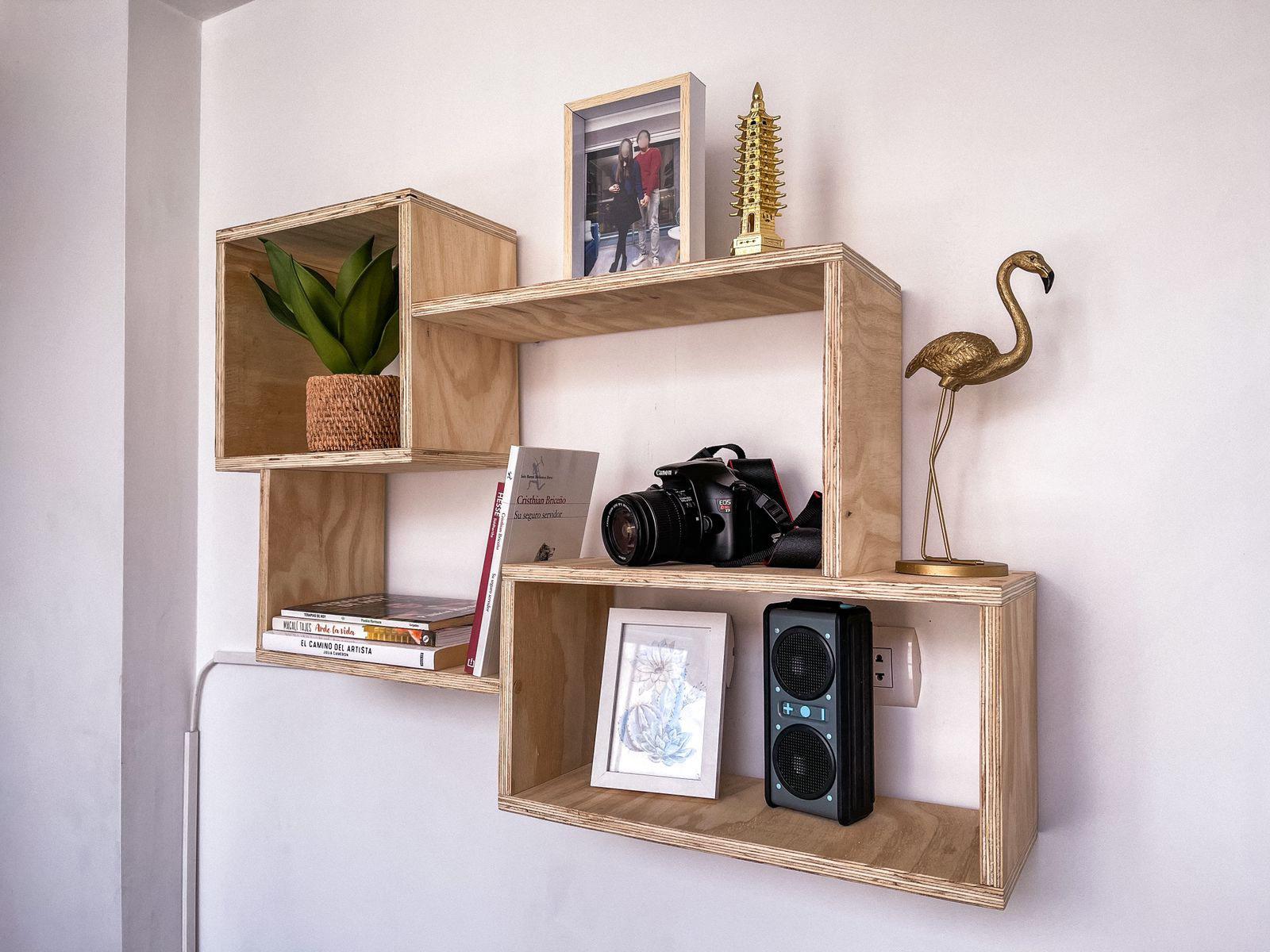 Repisas: Una forma de aprovechar el espacio extra de tu casa