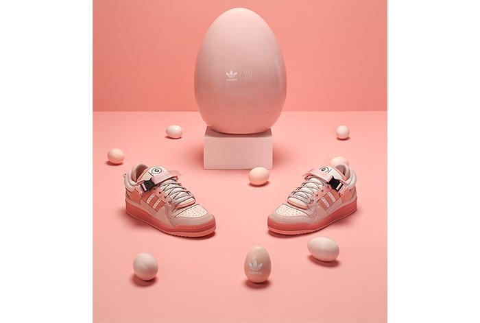 """adidas Originals y Bad Bunny lanzan nuevo diseño de la silueta """"Easter Egg"""" Forum Low"""