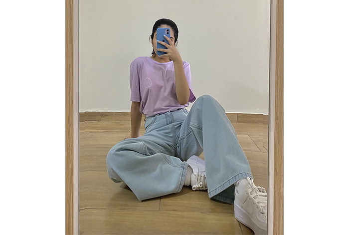 Tendencia de pantalones Oversize: WIDE LEG JEANS