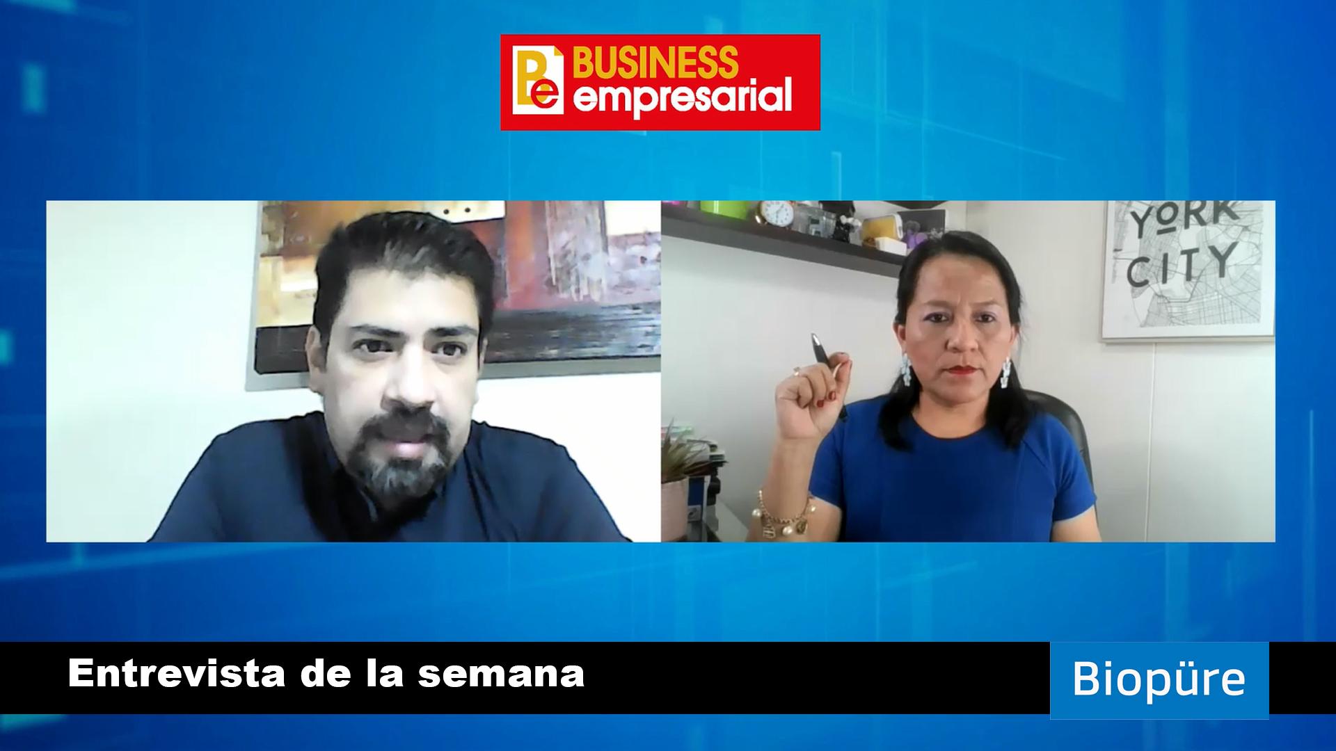 Entrevista a Marcos de Freitas, Country Manager de Biopüre Perú.