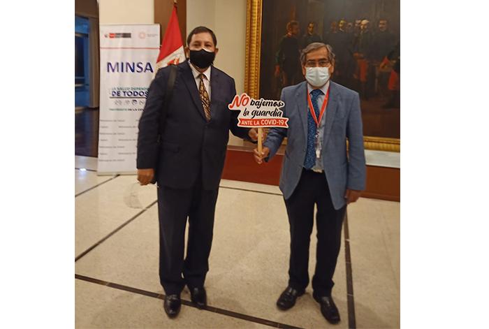 Minsa fortalece mensajes preventivos contra la COVID-19 con autoridades de los Gobiernos regionales