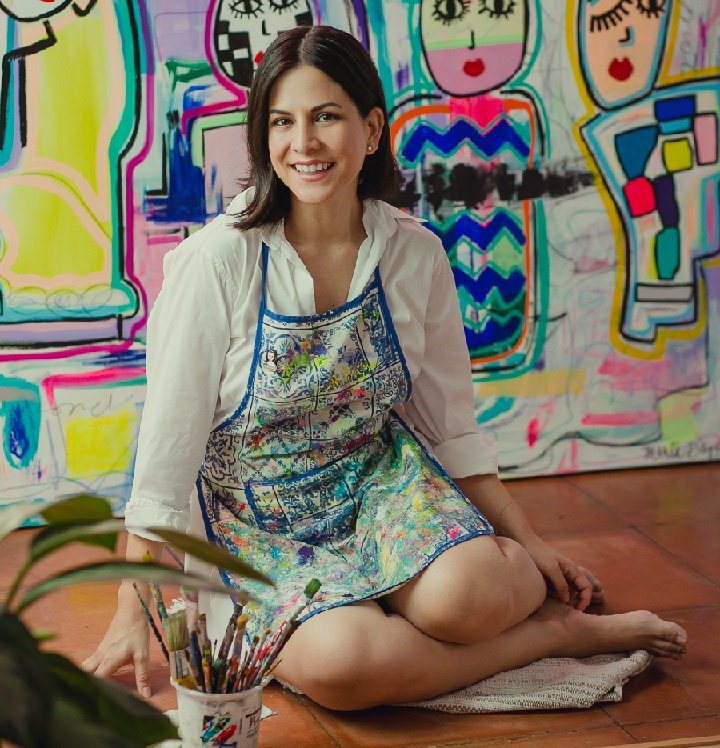 """La transformación de Pamela Díaz Escalante en Menta Days, se concreta con su nueva exposición virtual """"Vientos de Menta"""""""