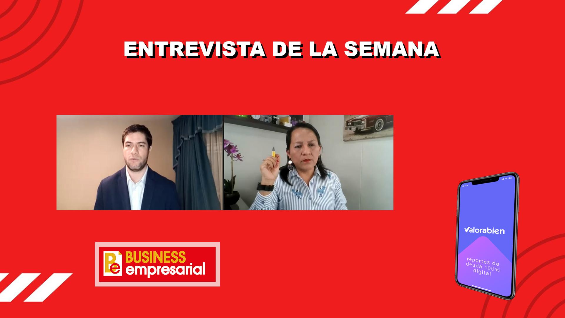 Entrevista a Giancarlo Castillo, Fundador de la startup Valorabien, el primer marketplace de centrales de riesgos en el Perú