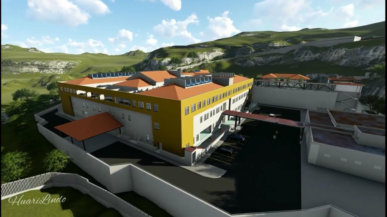 Pronis aprueba expediente técnico para la construcción del nuevo hospital en Huari, a cargo de Antamina