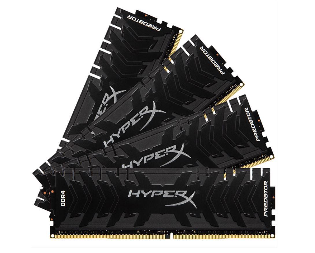 Kingston agrega nuevas velocidades a la memoria Predator DDR4
