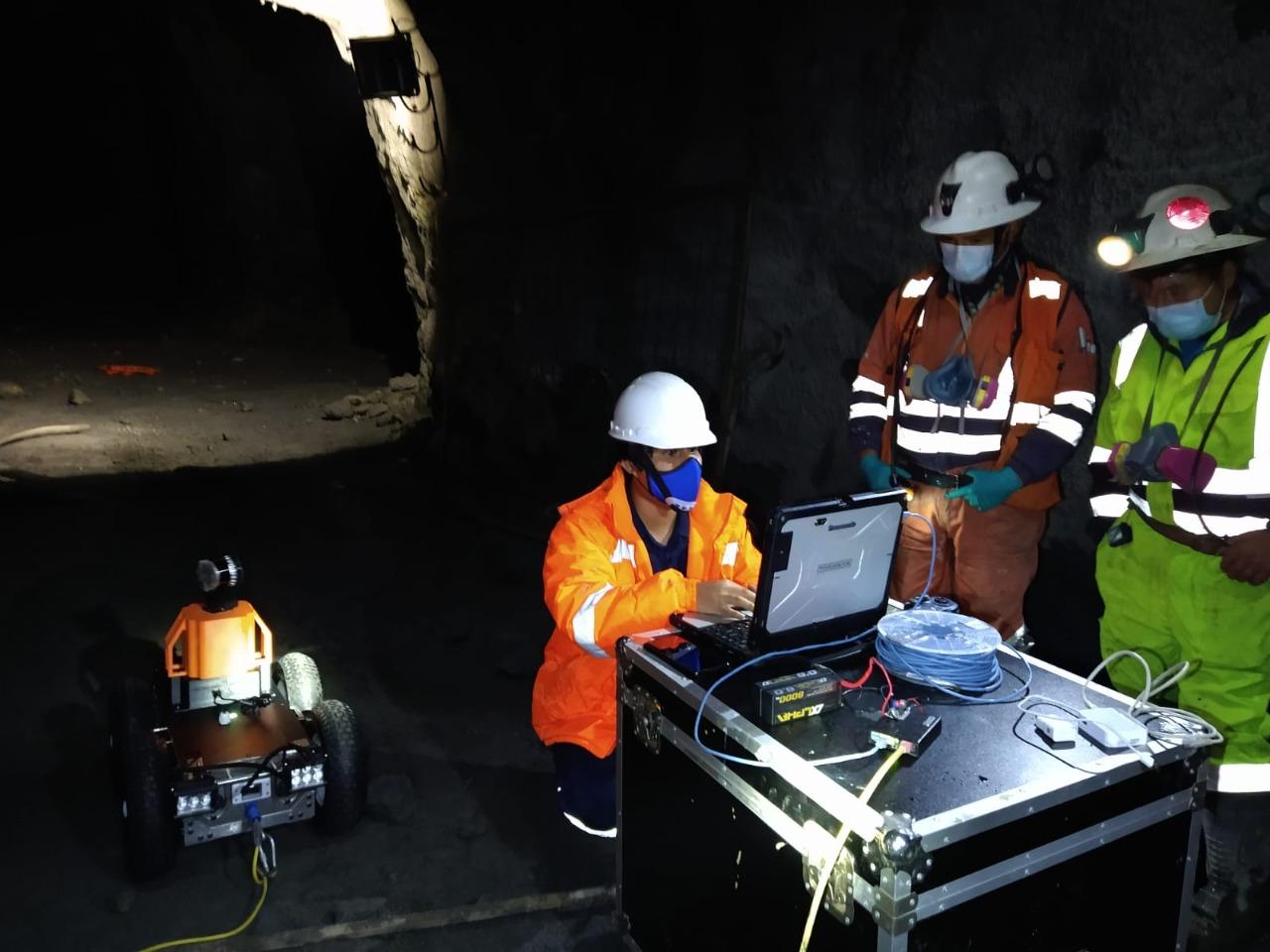 Nuevos paradigmas en minería: Robótica facilita la inspección de infraestructuras de difícil acceso