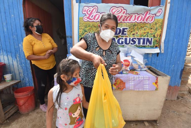 Midis ya entregó a través de Qali Warma cerca de 500 toneladas de alimentos a municipios de Lima, Callao e interior del país en favor de ollas comunes