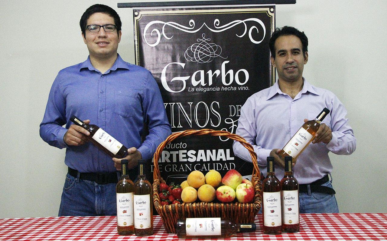 Vinos Garbo: Un emprendimiento artesanal con aroma y sabor a frutas