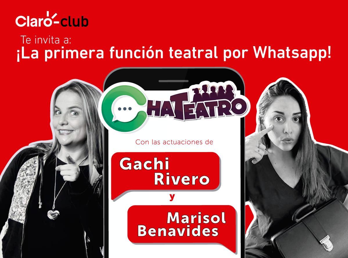 Chateatro: Se estrenará el primer show de teatro por WhatsApp en el Perú