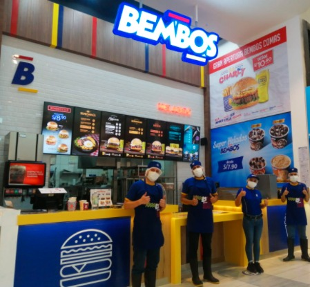 Bembos inicia operaciones en Mallplaza Comas: abre su tienda 47 en Lima