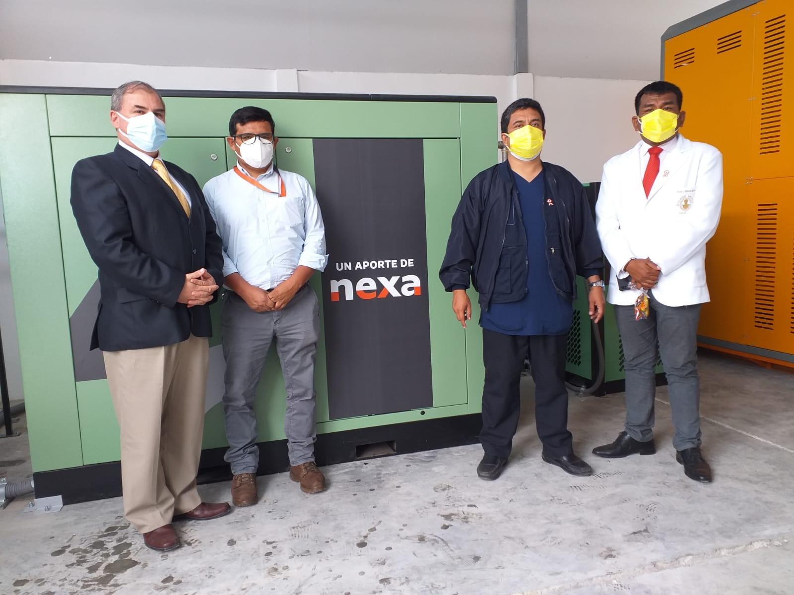 Nexa Resources entrega planta de oxígeno para Hospital San José de Chincha