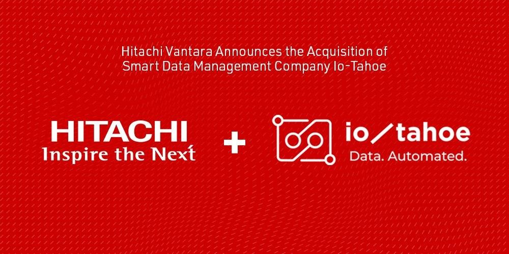 Hitachi Vantara adquiere a Io-Tahoe: La empresa de gestión inteligente de datos