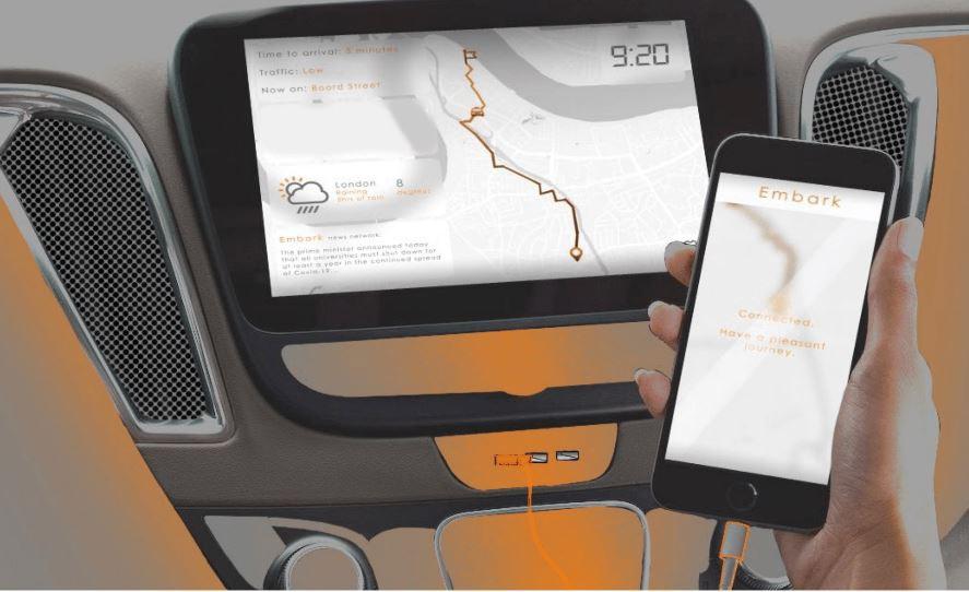 """Un taxi autónomo para personas con movilidad reducida ganó el premio """"New Designers"""" de Ford"""