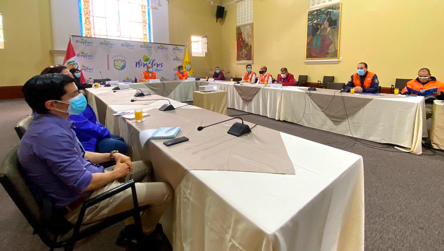 municipalidad de lima concreta acciones preventivas en la costa verde ante eventuales sismos