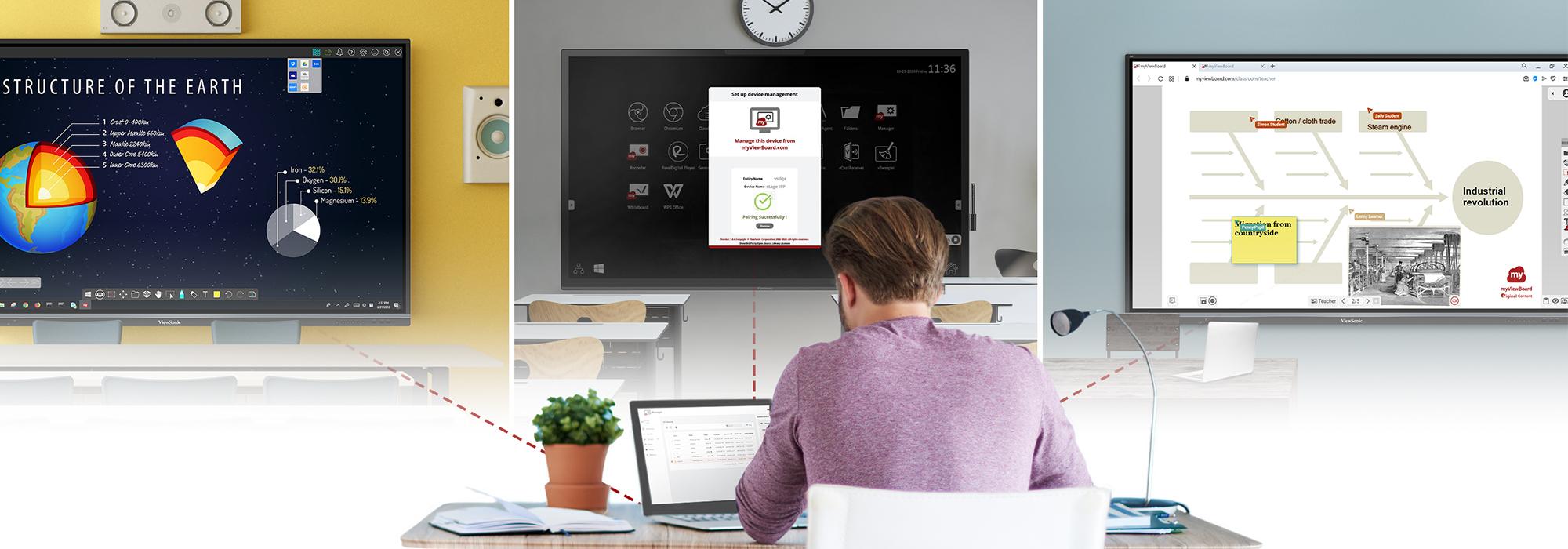 ViewSonic expande su suite myViewBoard para brindar mayores herramientas colaborativas en el salón de clase