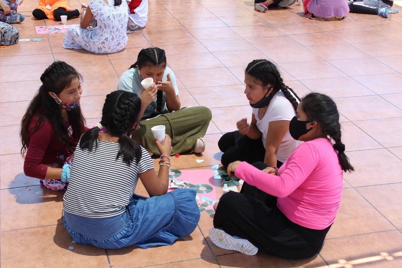 Computadoras con amor para empoderar tecnológicamente a 40 niñas víctimas de violencia del Albergue Nuestra Señora de Guadalupe