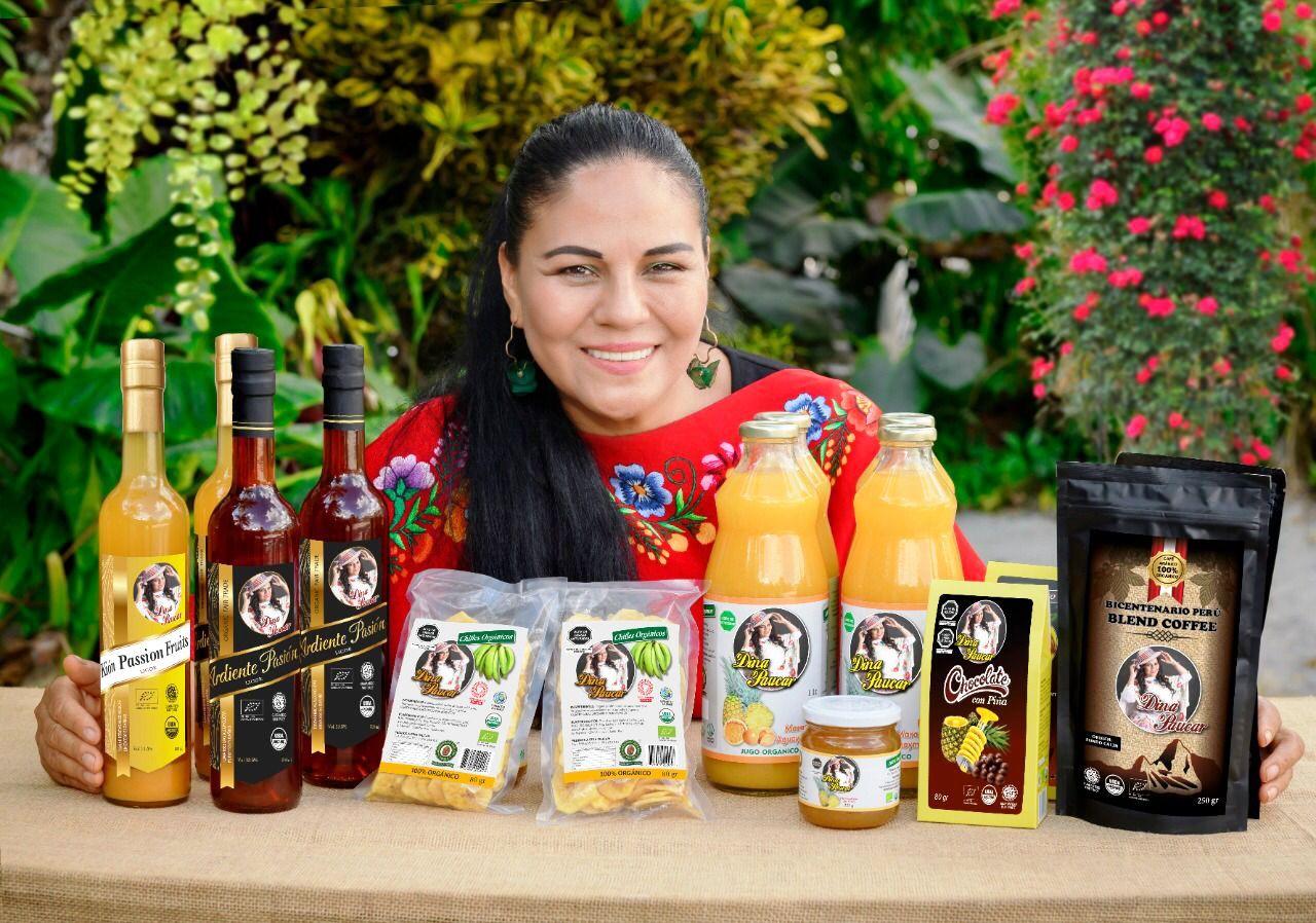 Dina Páucar lanza marca propia de productos orgánicos